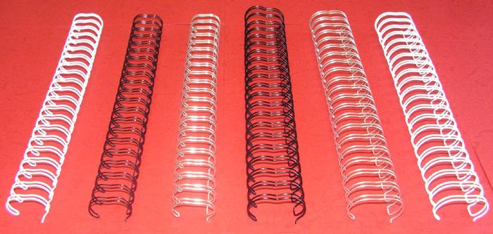 двойни метални спирали