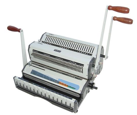машина за подвързване с метални спирали